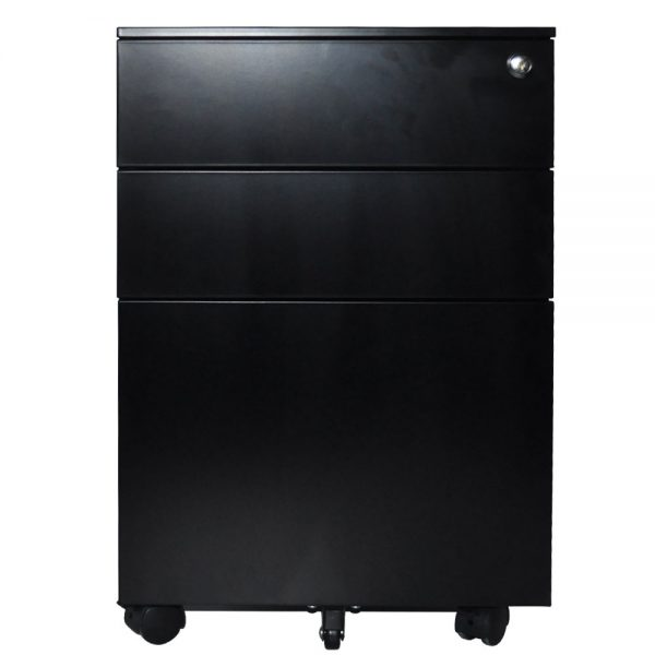 Mobile Pedestal Black