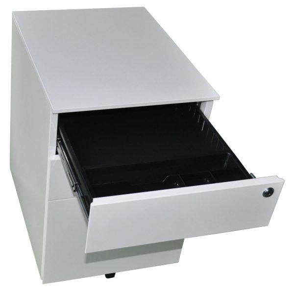 Mobile Pedestal Open Drawer