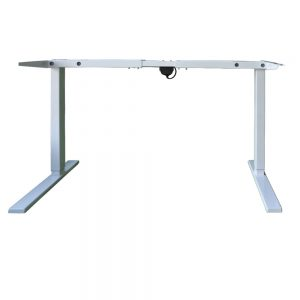 Single Motor Height-Adjustable Desk With Front View